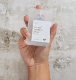Yuzu Soap Pocket Sanitizer Gift Set of 4 .67 fl. oz. Each