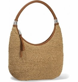 Brighton Shelby Straw Shoulderbag - Wheat