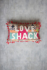 Kalalou Love Shack Kantha Pillow