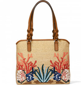 Brighton June Straw Tote