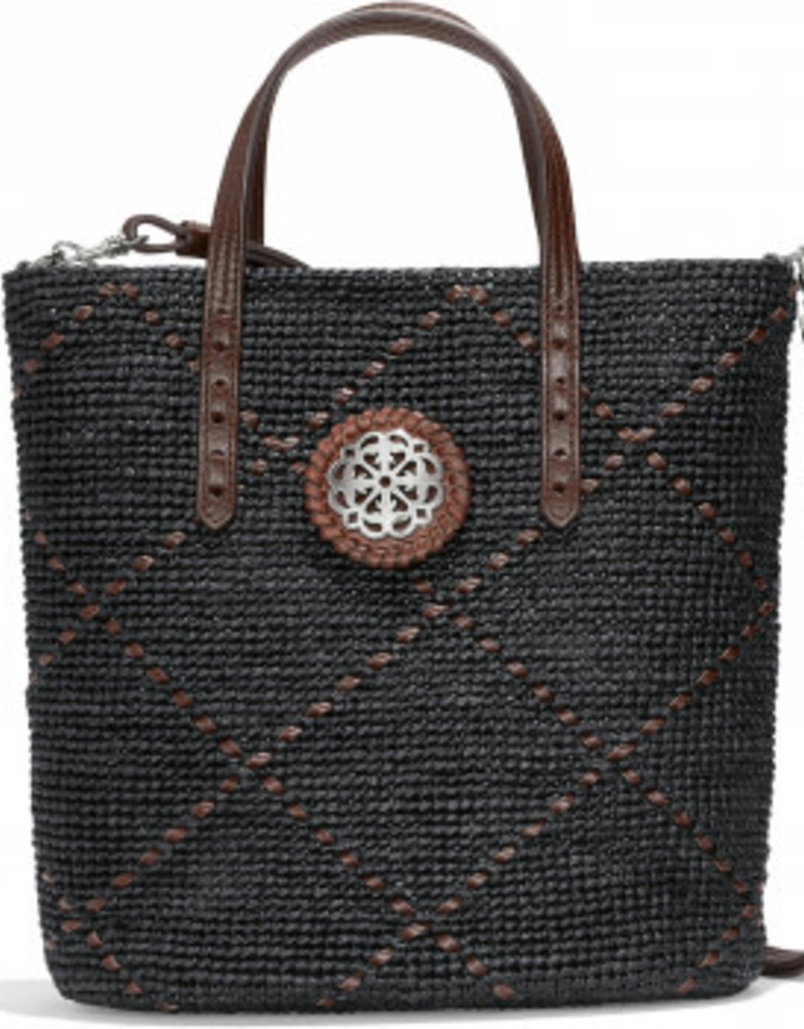 Brighton Carrera Raffia Handbag