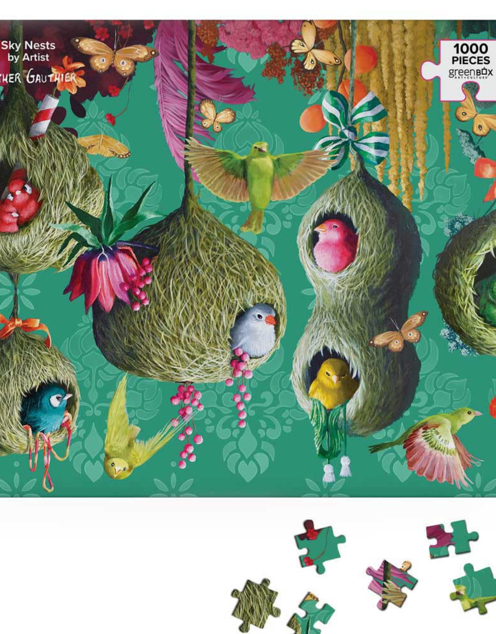 Greenbox Art Sky Nests Puzzle
