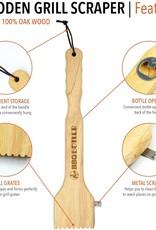 Wooden BBQ Scraper