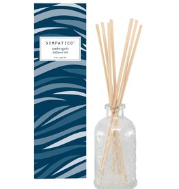 Barr-Co Diffuser Kit Ambergris Scent 8oz