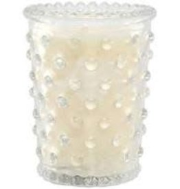 Barr-Co Barr-Co  Candles Ambergis 3.5 oz HOBNAIL GLASS VOTIVE