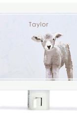 Greenbox Art Baby Sheep Night Lights 5x4