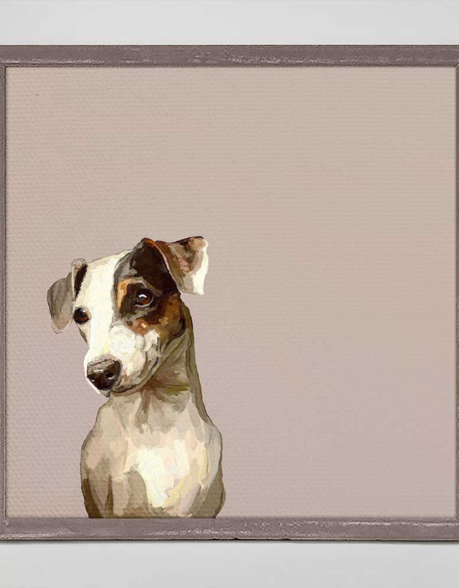 Greenbox Art Best Friend-Jack Russel Gaze Mini Frame
