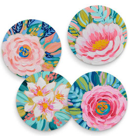 Greenbox Art Blooming Flower Garden-Set of 4 Coasters