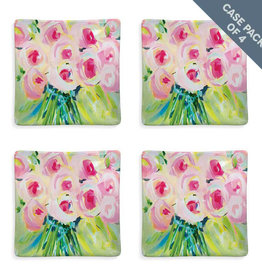 Greenbox Art Bouquet Of Pink-Box of 4 Serveware Dishes
