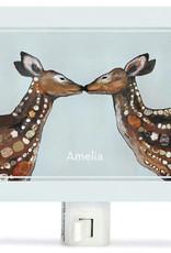 Greenbox Art Deer Love Night Lights 5x4