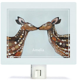 Greenbox Art Deer Love Night Lights 5x4