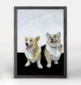 Greenbox Art Olive & Nash Rustic Black Mini Framed Canvas