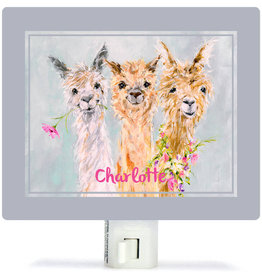 Greenbox Art Sweet Alpacas Night Lights