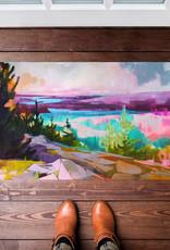 Greenbox Art Until We Meet Again Floorcloth 40x20