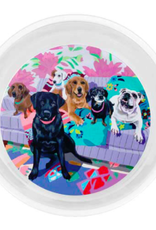 Greenbox Art Dog Tales-Serveware Pet Bowl
