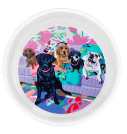 Greenbox Art Dog Tales-Serveware Pet Bowl
