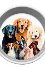 Greenbox Art Best Friend-Dog Bunch Serveware Bowl