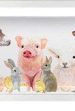 Greenbox Art Spring Animal Babies-Serveware