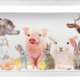 Greenbox Art Spring Animal Babies-Serveware