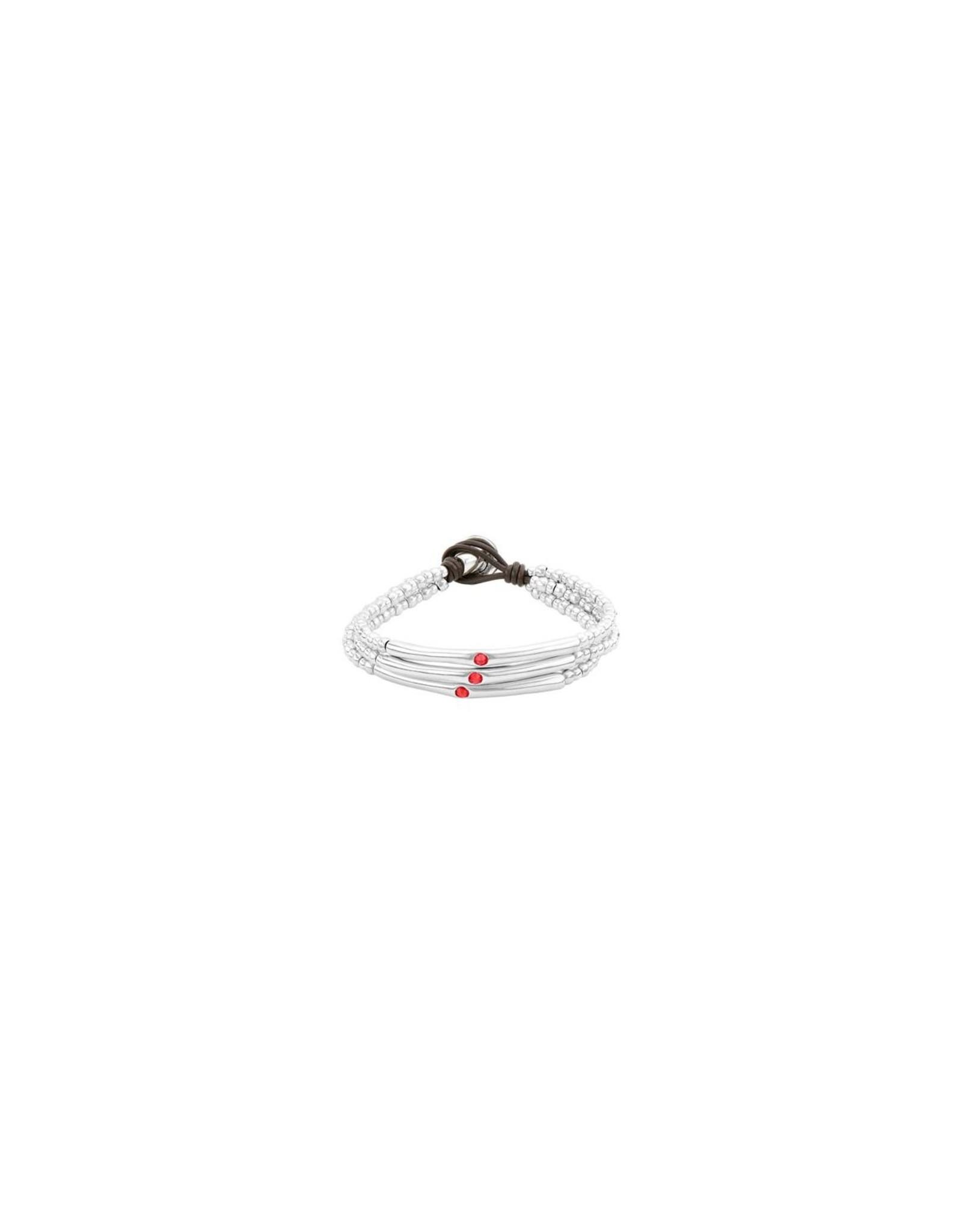 Uno de50 La Vie en Rose Bracelet Large
