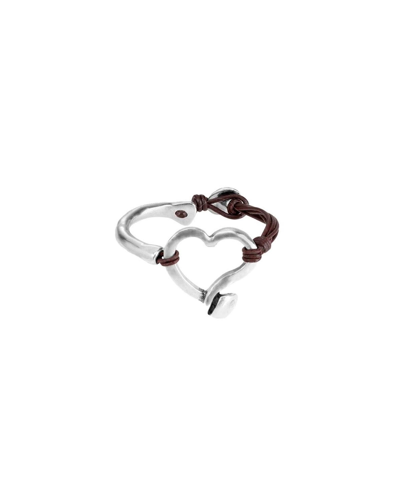 Uno de50 Weave Bracelet