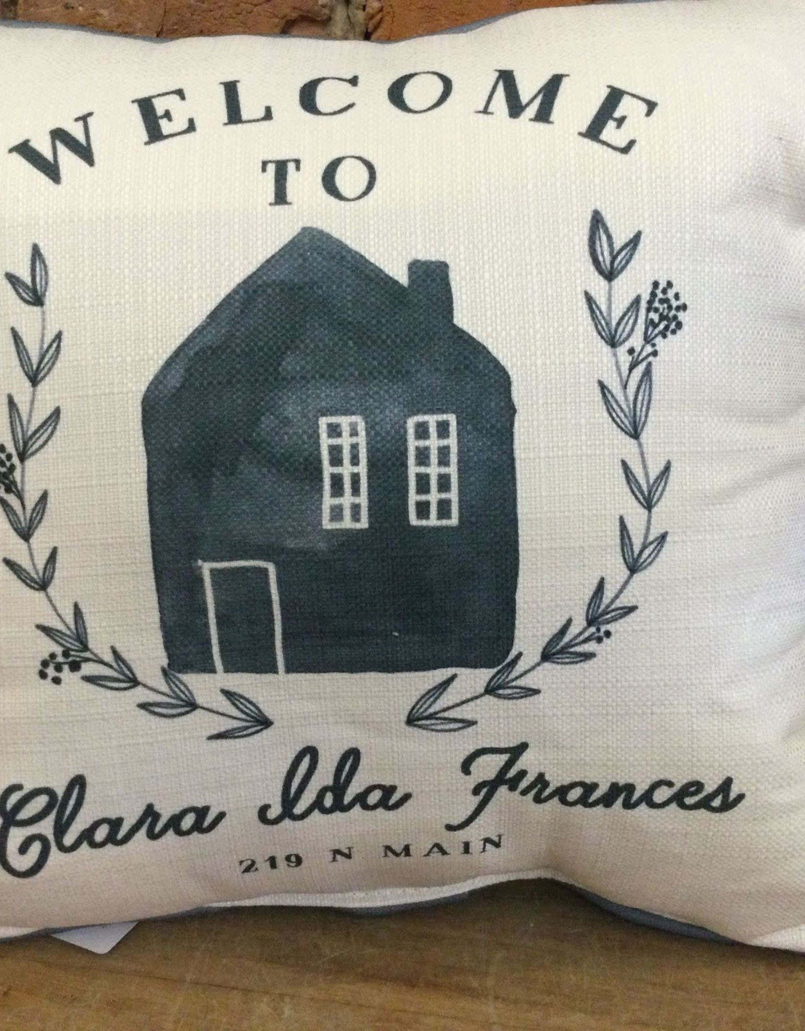 Welcome To Family Home Address-Clara Ida-Frances-219 N Main St
