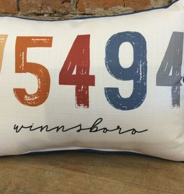 Sunset Zip Code-75494-Winnsboro-Piping Blue