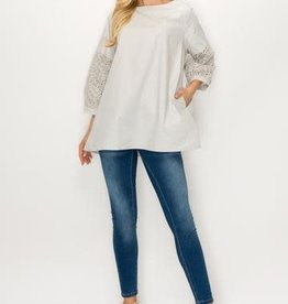 Joh Apparel Wylia Top with Lace