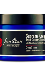 Jack Black Supreme Cream, 9.5 oz Triple Cushion Shave Lather