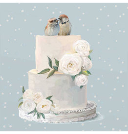Greenbox Art Wedding Birds Tea Towel