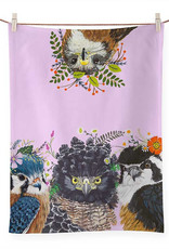 Greenbox Art Flora & Fauna-Birds Tea Towel