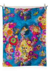 Greenbox Art Honeycomb tea Towel