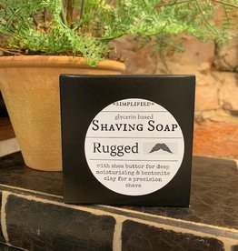 Shave Soap 5oz- Rugged