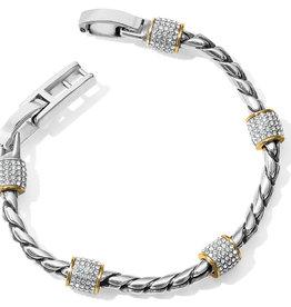 Brighton Meridian Two Tone Bracelet