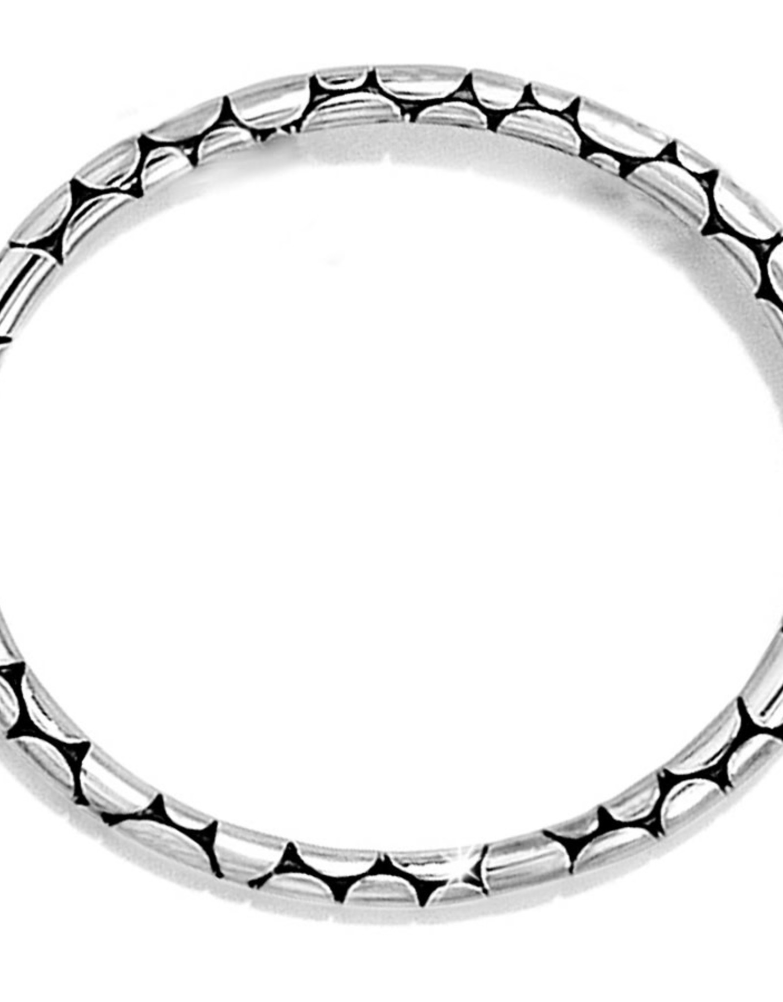 Brighton Silver Pebble Bracelet Slim