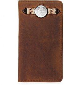 Brighton Buckaroo Checkbook Wallet by Silver Creek Classics