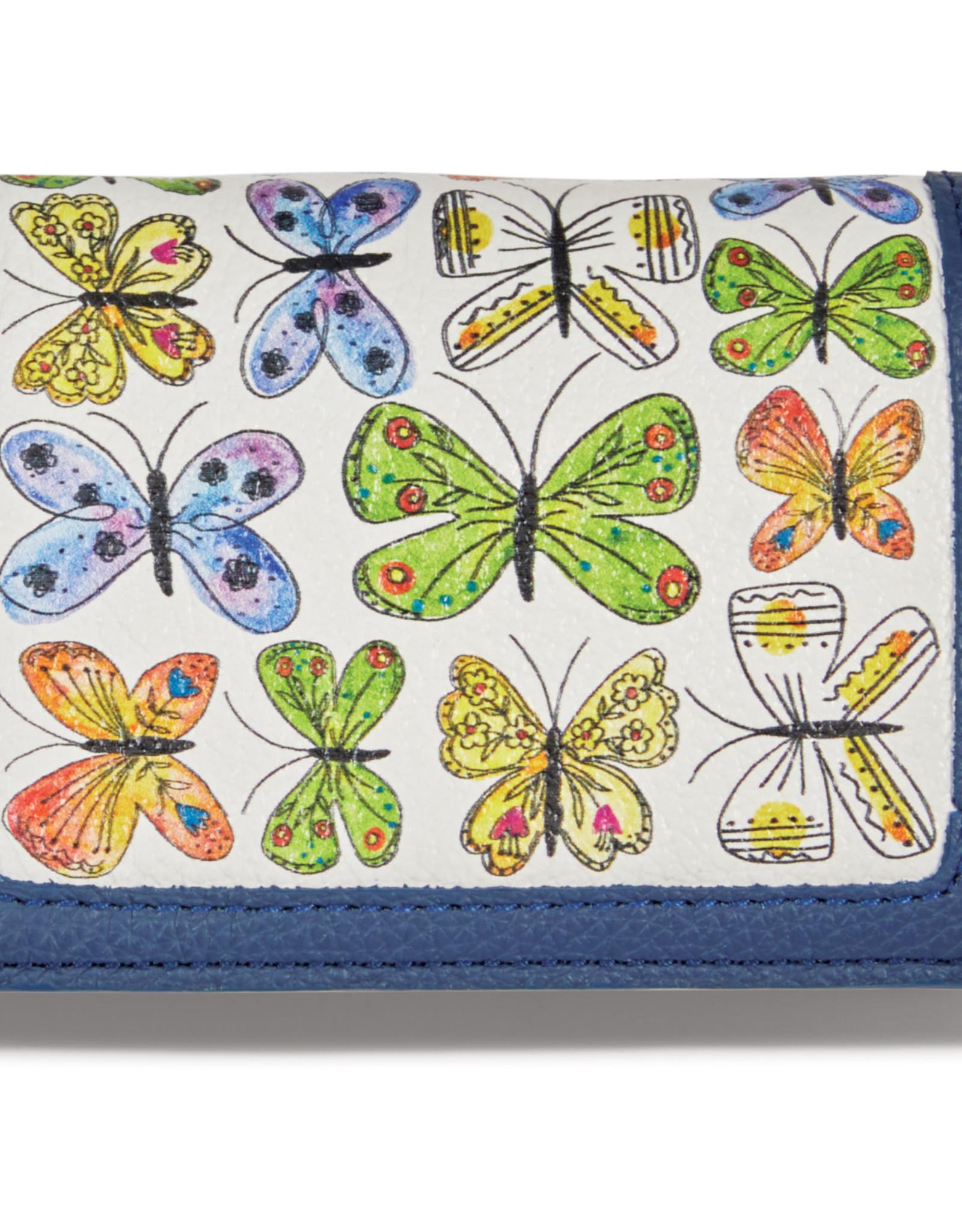 Brighton Garden Wings Card Case