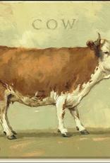 Sullivans Pasture Cow Giclee Wall Art