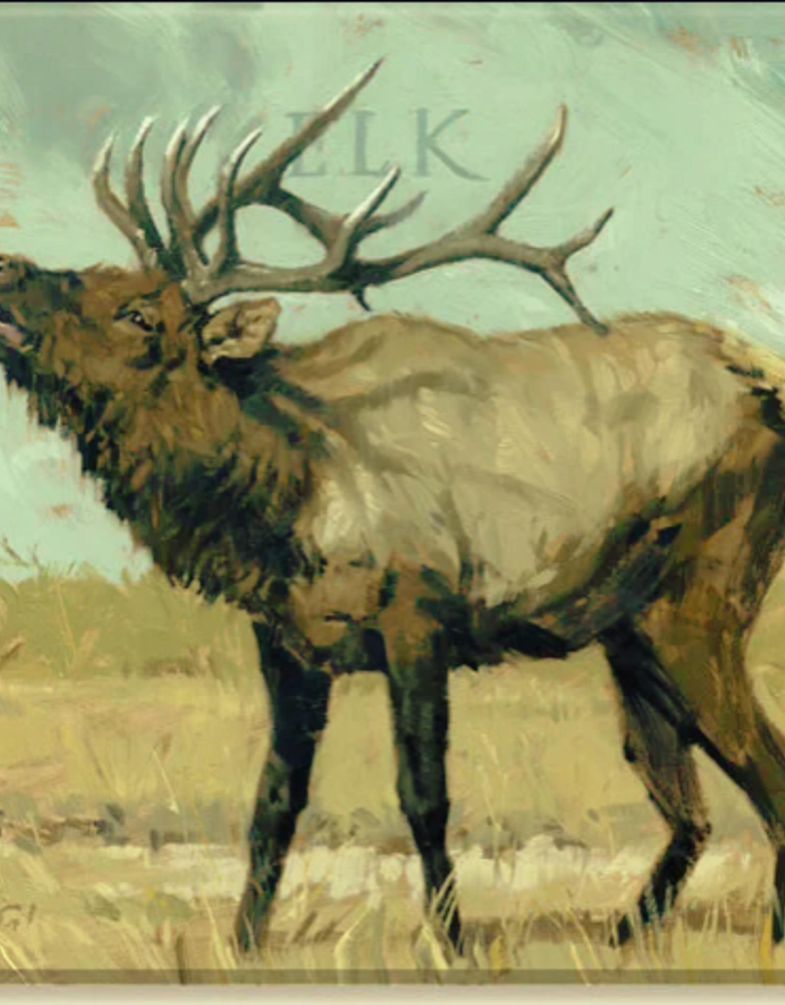 Sullivans Elk Giclee Wall Art