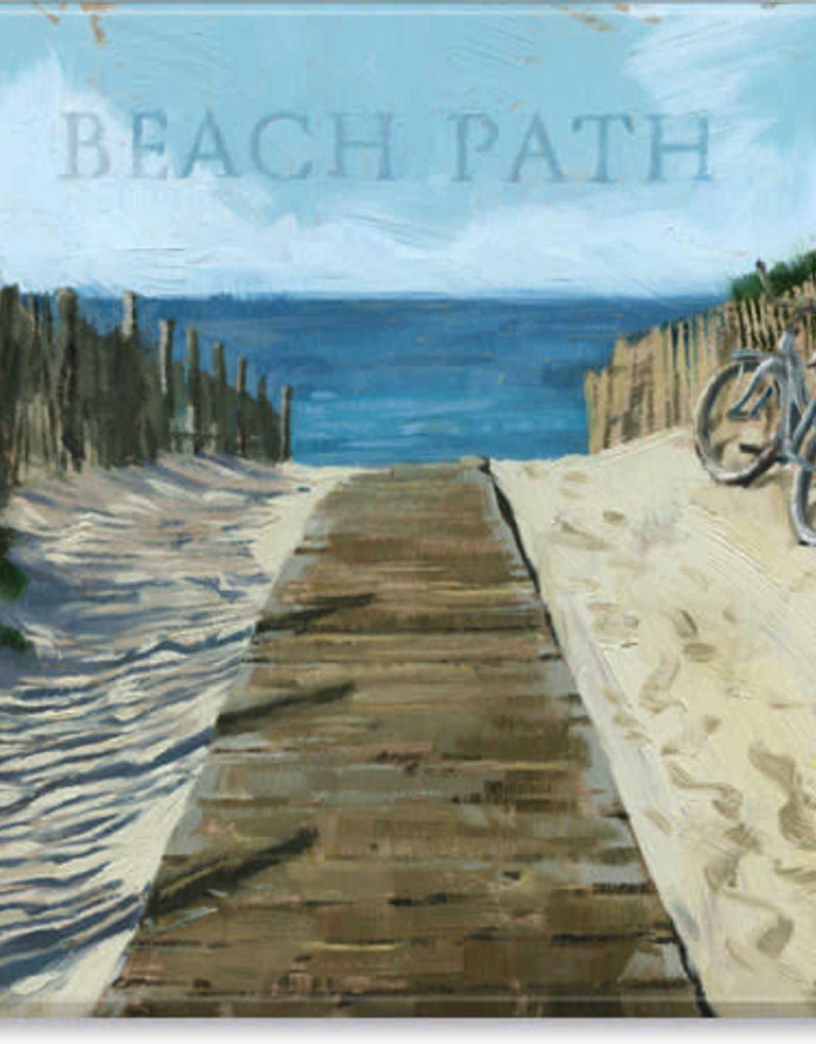Sullivans Beach Path Giclee Wall Art 20x20