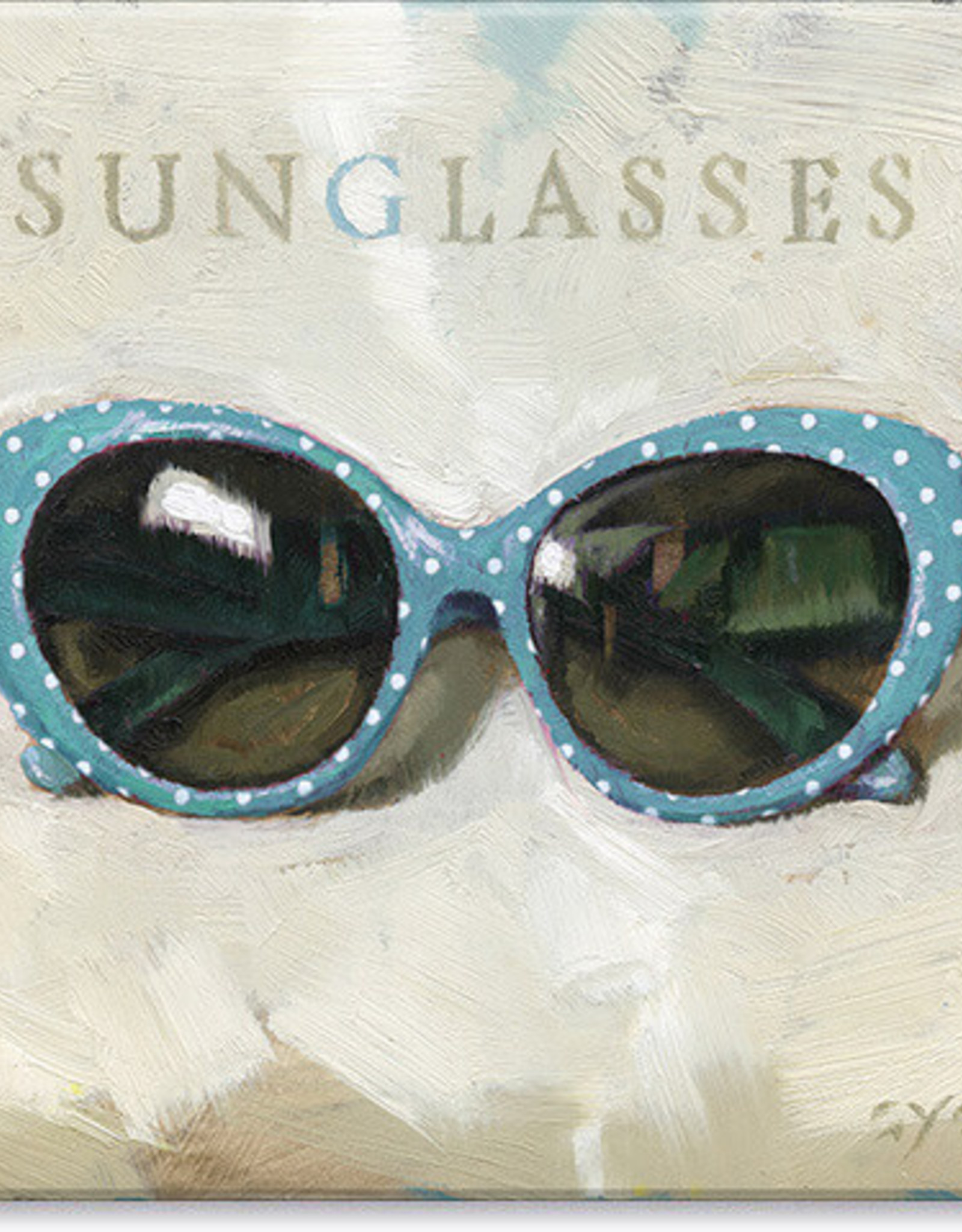 Sullivans Sunglasses Giclee Wall Art 9x9