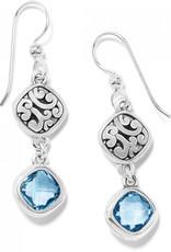 Brighton Elora Gems Sky French Wire Earrings