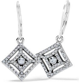 Brighton Illumina Diamond Leverback Earrings