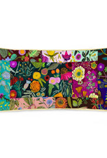 Greenbox Art Wildflowers Patchwork - Lumbar Pillow