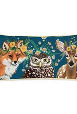 Greenbox Art Flora & Fauna - Woodland Pillow