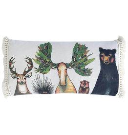 Greenbox Art The Forest Five Pillow