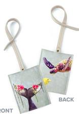 Greenbox Art Floral Ocean Luggage Tag