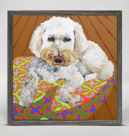 Greenbox Art Dog Tales - Sugar Mini Framed Canvas