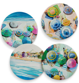 Greenbox Art Summertime Sun - Set of 4 Coasters