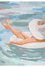 Greenbox Art Bathing Beauties - Hannah Wall Art. 14 x 14 x 14